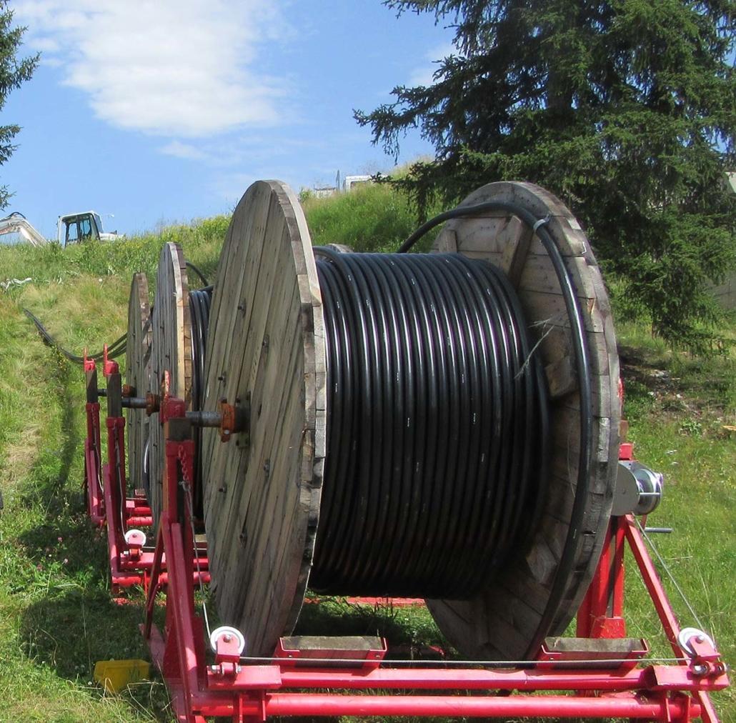Kabelbau Montafon